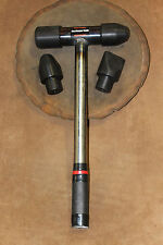Metal Shaping Mallet Set With Delrin Heads Metal Handle