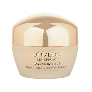 1-PC-Shiseido-Benefiance-WrinkleResist24-Night-Cream-1-7oz-50ml-Moisturizer-Firm