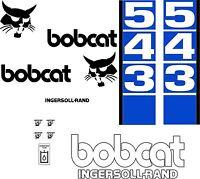 543 Replacement Decals Decal Kit / Sticker Set Skid Loader Steer Fits Bobcat