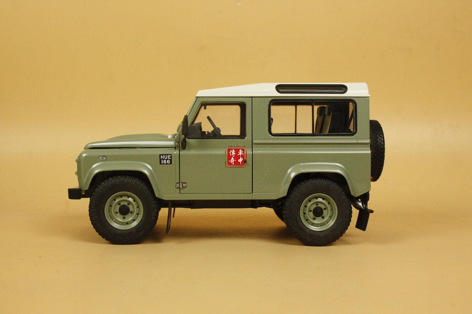 1 18 kyosho land rover defender 90 heritage. Black Bedroom Furniture Sets. Home Design Ideas