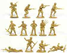 Matchbox WWII British 8th Army - 15 54mm unpainted figures mint in sealed bag