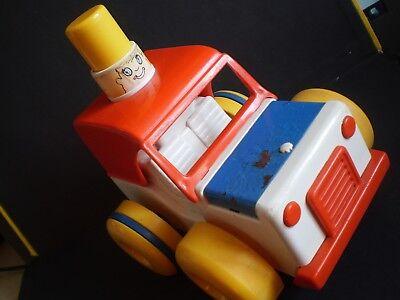 Gioco Chicco Modellino Auto Fuoristrada Latta E Plastica Rigida Funzionante Raro