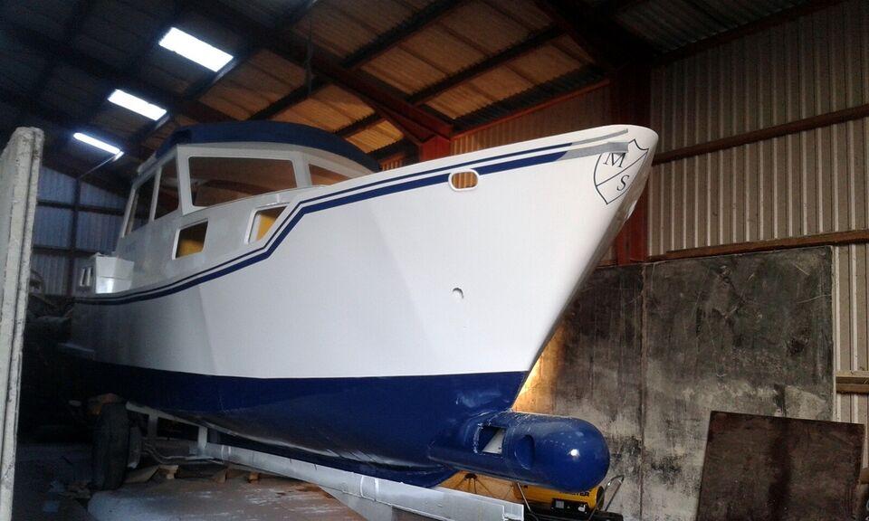 Båd projekt - stålbåd, motor 11x3,5 m