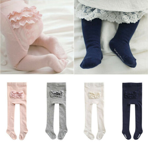 Lovely Baby Lace Princess Pantyhose Cotton Tights Stocking Hosiery PP Bottom New