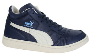 Mid Becker Boris Trainers Mens Peacoat Leather Puma Top 357768 rBCxoed