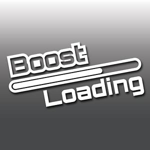 Funny-Boost-Loading-Car-Van-Window-Bumper-JDM-Euro-DUB-Vinyl-Decal-Sticker