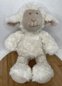 Pier-1-One-Imports-Lamb-Sheep-17-Plush-Stuffed-Animal-Soft-Toy-White-Cream