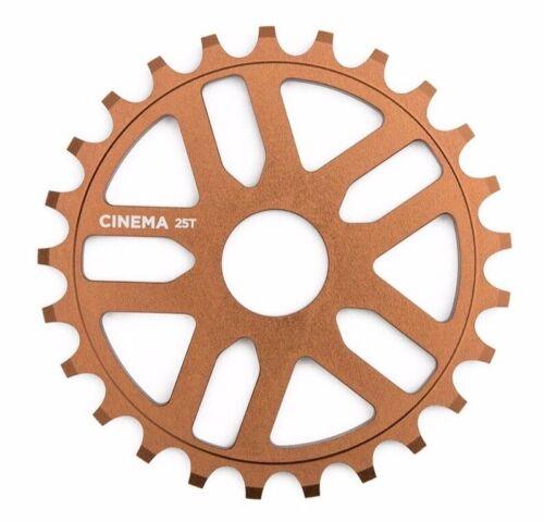 Cinema Rewind Nathan Williams Signature 28 Teeth Medallion Bronze BMX Sprocket