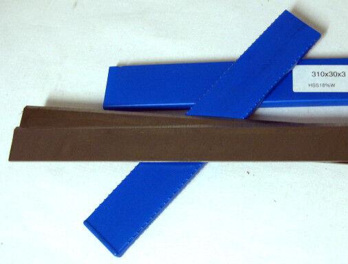 Hamann 2er Hobelmesser   Streifenhobelmesser 510   610 x 30 x 3 HSS 18 % NEU