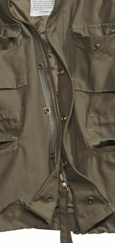 Quilted Field Coat M65 Jacket Uomo Army militare Liner tipo Olive Combat Vintage zqq47c5w1