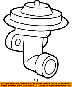 ford oem 2000 ranger egr valve f87z9d475a2a ebay 1992 Ford Aerostar image is loading ford oem 2000 ranger egr valve f87z9d475a2a