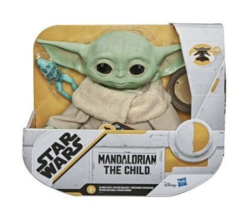 Star Wars THE CHILD Talking MANDALORIAN BABY Yoda Hasbro Fast delivery By Xmas