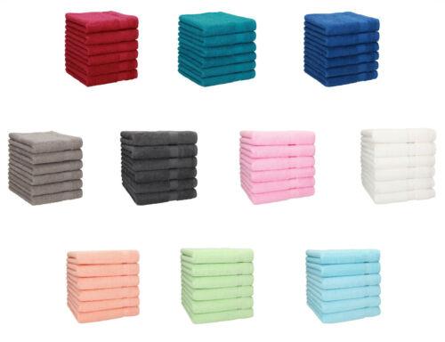 Betz 6 Stück Handtücher PALERMO 100/% Baumwolle Handtuch-Set  verschiedene Farben