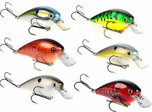 Strike-King-KVD-Square-Bill-2-5-Silent-2-3-4-inch-Crankbaits-Bass-Fishing-Lure
