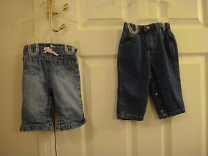 Baby & Toddler Clothing Glorious Nwt Baby Gap 3t Floral Mini Skinny Denim Jeans New