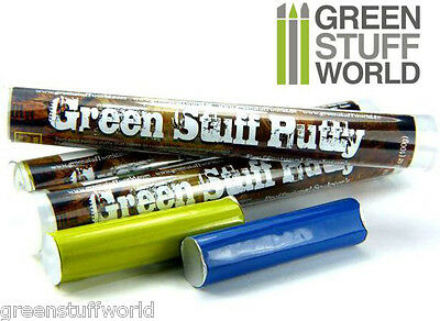 Masilla Verde en Barra 100gr - modelar y esculpir - Green Stuff - Warhammer