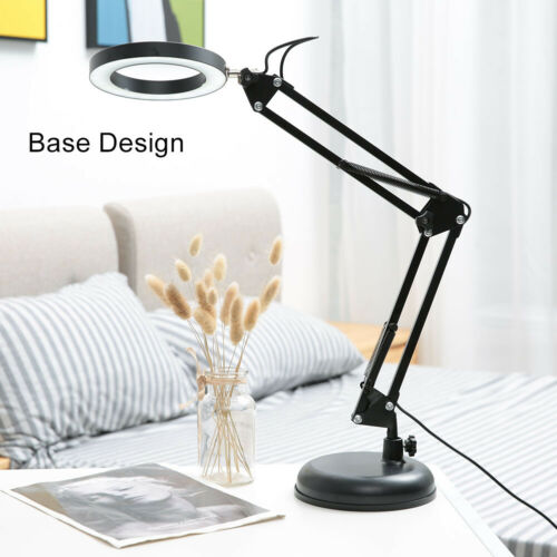 Foldable 48 LED Clip-On Lamp USB Desk Bedside Table Reading Book Dimmable Light