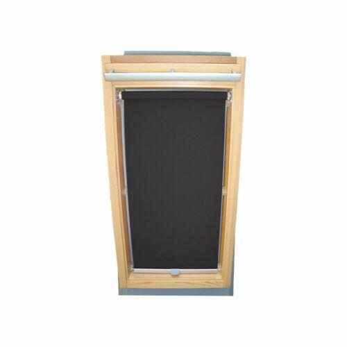 dunkelgrau Dachfensterrollo Sichtschutz für Velux Dachfenster GGL//GPL//GHL
