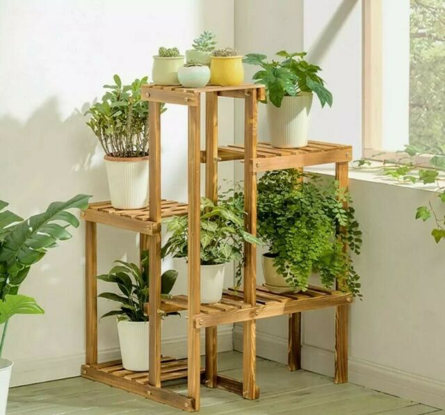 Us Anti Insect 6 Tier Wood Plant Stand
