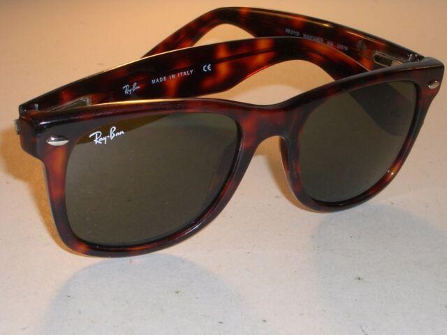 1d00de000 ... norway ray ban rb2113 5019 tortoise flexible hinges g15 crystal  wayfarers sunglasses ee8af 18a05