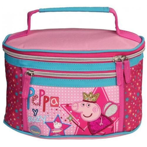 Peppa Pig rosa Kosmetiktasche Kulturbeutel Kulturtasche Beauty case Tasche