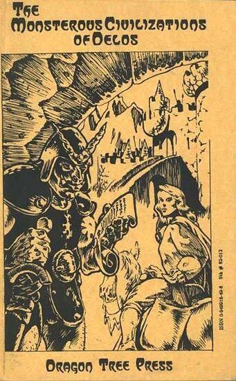 LE MOSTRE CIVILIAZIONI DI DELOS ECl Modulo stampa dell'albero del drago D&D