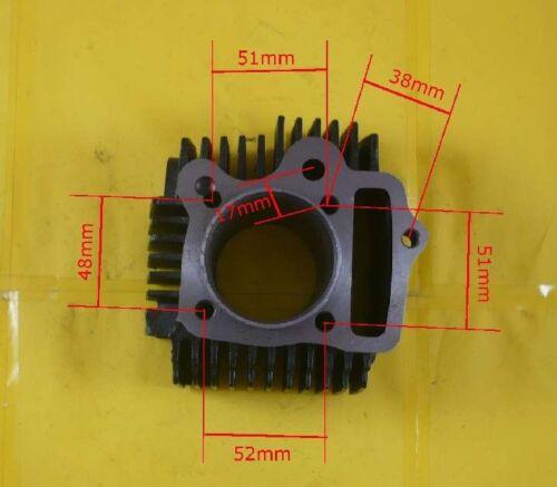 HMParts Zylinder Set Loncin 125ccm  52mm  ATV Quad Dirt Bike