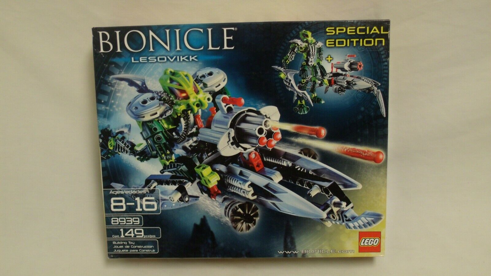 LEGO LEGO LEGO Bionicle Lesovikk Special Edition BRAND NEW 4d3c67