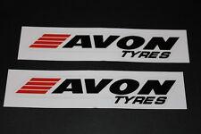 Avon Tires Aufkleber Sticker Decal Kleber Logo Schriftzug Bapperl Autocollant L