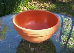 Image Is Loading 8 034 WIDE TERRA COTTA DISH GARDEN CLAY