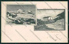 Vercelli Col d'Olen Monte Rosa Rifugio cartolina QK4856
