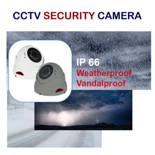 CCTV DOME CAMERA 2.4MP VARIFOCAL 2.8-12MM TVI AHD CVI CVBS FULL HD 1080P OUTDOOR