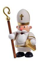 919-A25028 KWO Räuchermann Heiliger St. Nikolaus Mini