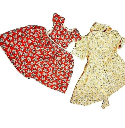 Adorable 1930s Vintage Little Girls Feed Sack Dres