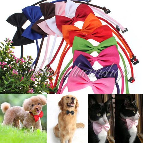 New Fashion Cute Dog Cat Pet Puppy Toy Kid Cute Bow Tie Necktie Collar Clothes