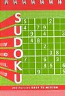 Sudoku 2 Puzzle Pad: Easy Level by Xaq Pitkow (Other printed item, 2007)