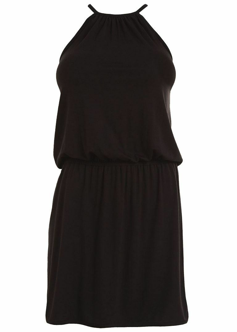 Freya Littoral AS3487 Dos-Nu Robe de Plage black (black) L Cs