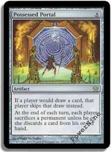 1 PLAYED Possessed Portal - Artifact Fifth Dawn Mtg Magic Rare 1x x1