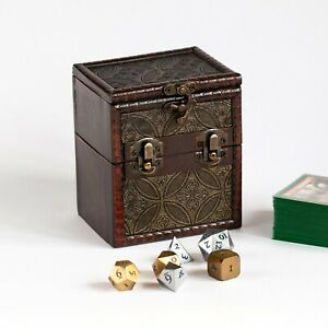 Wooden-Deck-Box-for-MTG-Magic-the-Gathering-Pokemon-Yugioh-EDH-Commander-Dice