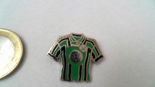VFL Wolfsburg VW Trikot grün schwarz gestreift Pin Badge