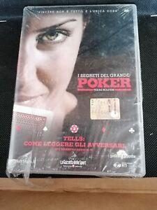 DVD-FILM-documentario-I-SEGRETI-DEL-GRANDE-POKER-TEXAS-HOLD-039-EM-nuovo