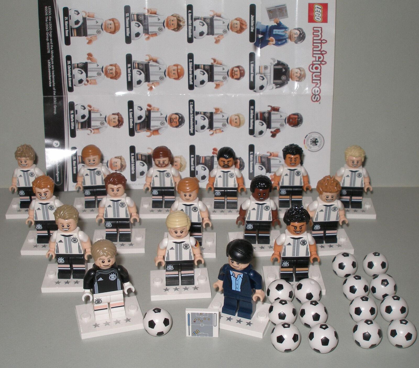 Selezione LEGO 71014 DFB statuine la squadra personaggi singoli o frase