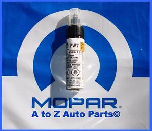 Details about Ram,Dodge Challenger, Chrysler, Jeep (PW7) BRIGHT WHITE Touch  Up Paint,Mopar