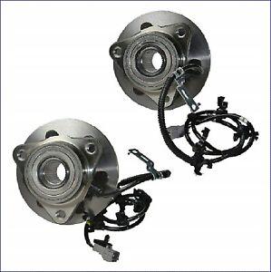 2X-RADNABE-RADLAGER-VORNE-FUR-DODGE-DAKOTA-DURANGO-1997-2004-4WD-ABS