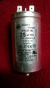 Ducati Energia 4162718 25 Uf 5 330v10000hclb Capacitor Ebay