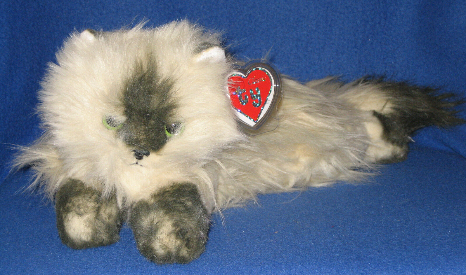 TY CLASSIC PLUSH - PEACHES THE HIMALAYAN CAT – MINT with MINT TAG - BRAND NEW