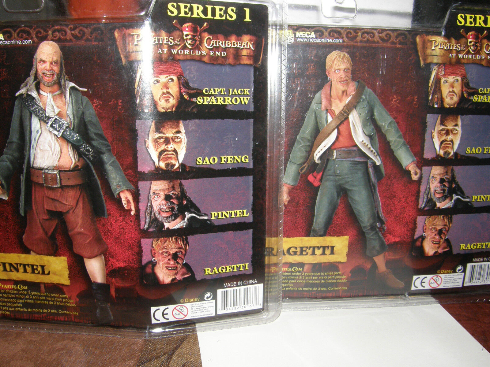 Pirates of of of the caribbean   at world end   Pintel   Ragetti  action figure's 595224