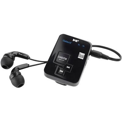 DAB+ Taschenradio Dual DAB Pocket Radio 2 DAB+, UKW wiederaufladbar Schwarz