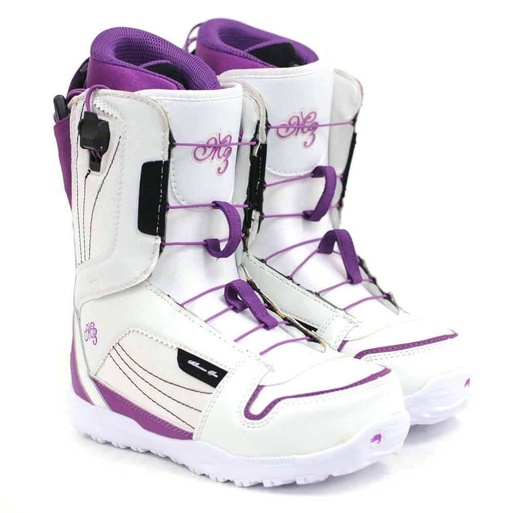 M3 Devine Womens Snowboard  Boots Size 9 - White Purple - NEW  just for you