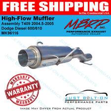 610 MBRP MK96116 HIGH-FLOW MUFFLER ASSEMBLY FOR 2004-2005 DODGE 5.9L CUMM 600